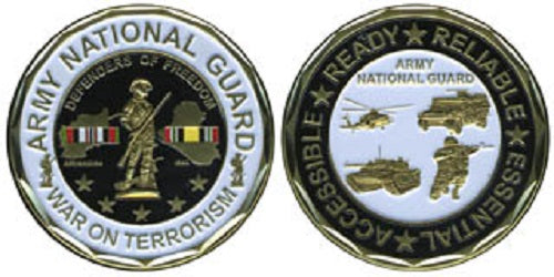 Army Challenge Coin - Army National Guard - War on Terrorism