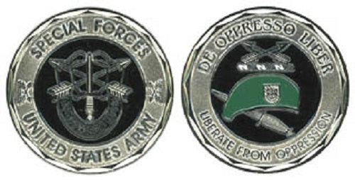 Army Challenge Coin - Special Forces