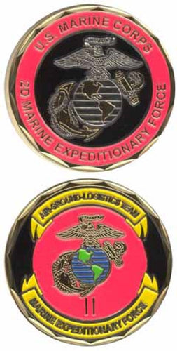 Marines Challenge Coin - 2nd Marine Expeditionary Force