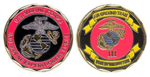 Marines Challenge Coin - 3rd Marine Expeditionary Force