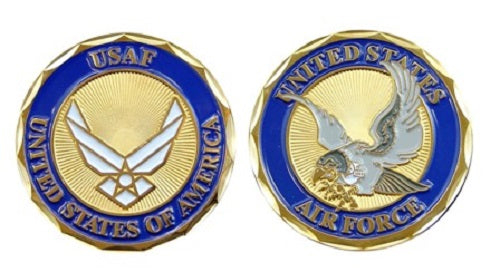 Air Force Challenge Coin - USAF Falcon