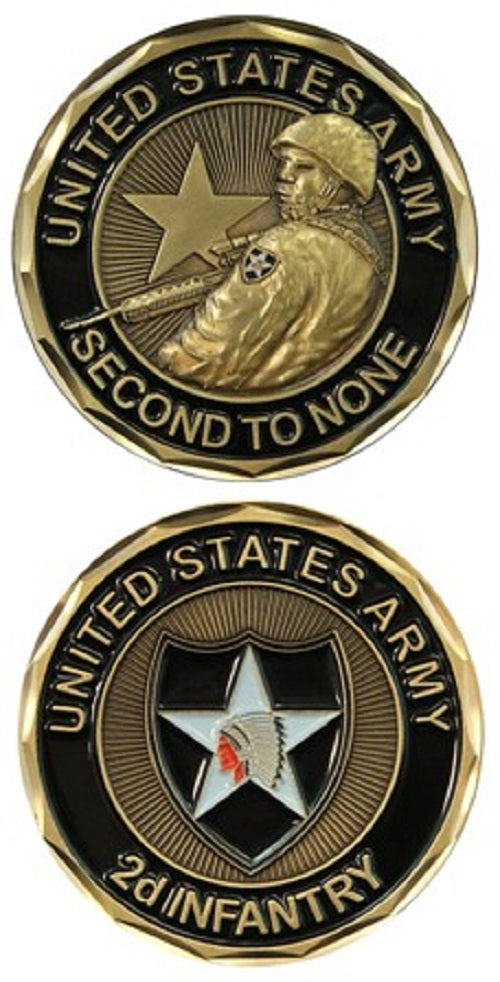 Army Challenge Coin - 2d Infantry