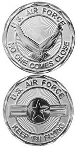 Air Force Challenge Coin - Keep 'Em Flying