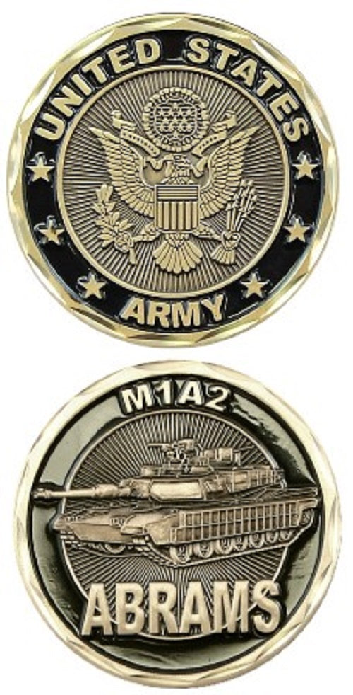 Army Challenge Coin - Abrams