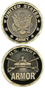 Army Challenge Coin - Armor - Camp Liberty Iraq