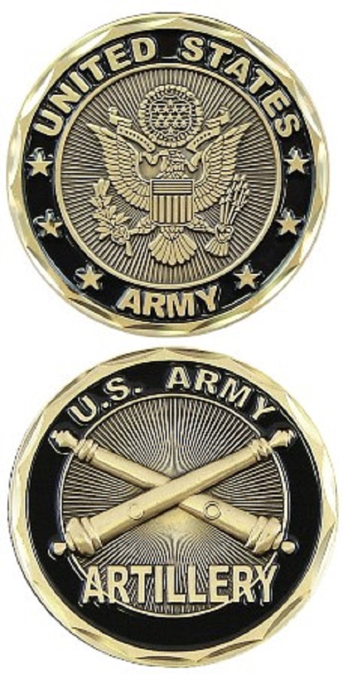 Army Challenge Coin - U.S. Army Artillery