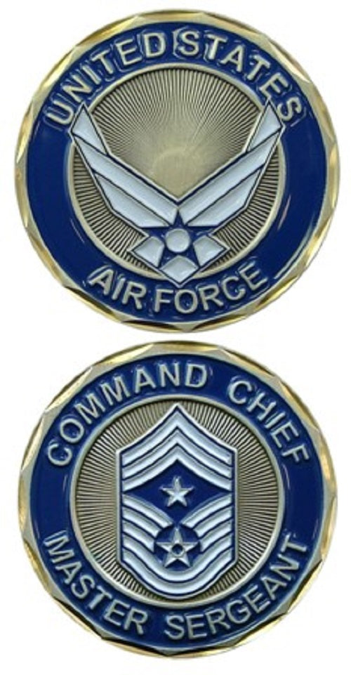 Air Force Challenge Coin - Command Chief Master Sergeant