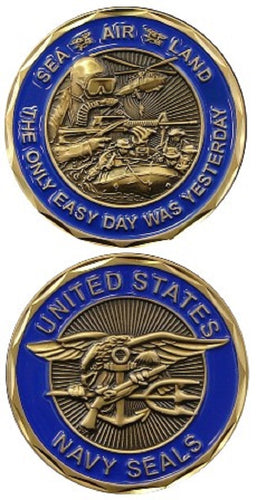 Navy Challenge Coin - US Navy SEALS