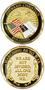 Challenge Coin - Onward Christian Soldiers