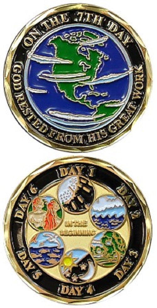 Challenge Coin - Seven Days of Creation