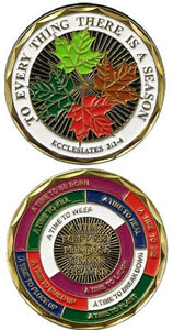 Challenge Coin - To Every Thing There is a Season