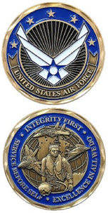 Air Force Challenge Coin - Air Force Values