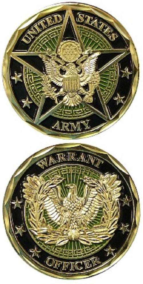 Army Challenge Coin - Warrant Officer
