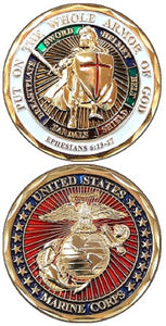 Marines Challenge Coin - Armor of God