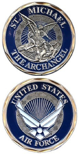 Air Force Challenge Coin - St. Michael