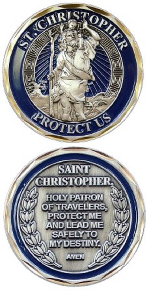 Challenge Coin - St. Christopher