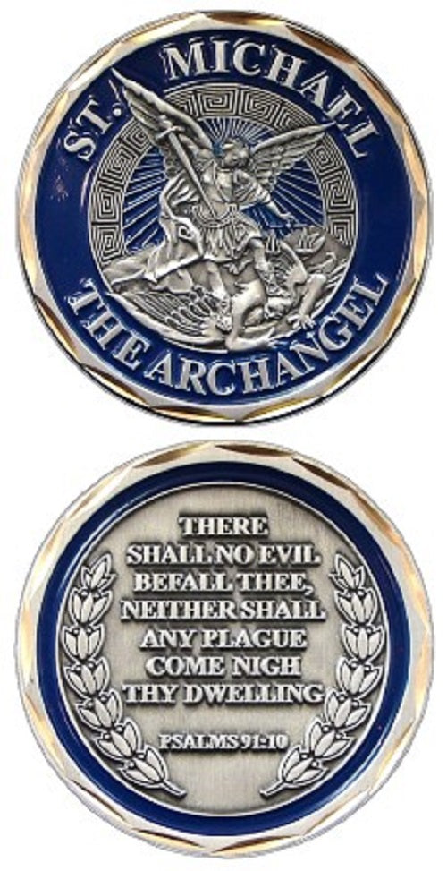 Challenge Coin - St. Michael