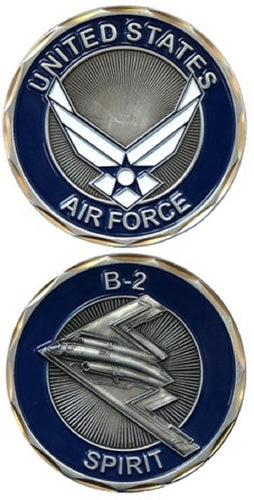 Air Force Challenge Coin - B-2 Spirit