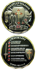 Challenge Coin - Christian Soldier Checklist