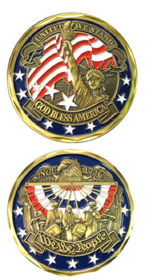 Challenge Coin - We The People - All Branches