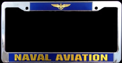 Navy - License Plate Frame - Naval Aviation