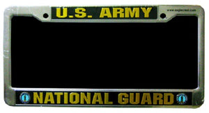 Army - License Plate Frame - U.S. Army National Guard