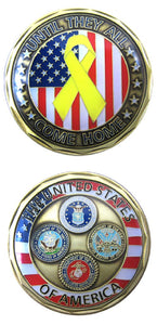 Challenge Coin - Until They All Come Home
