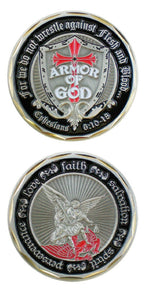 Challenge Coin - Armor of God (Shield)