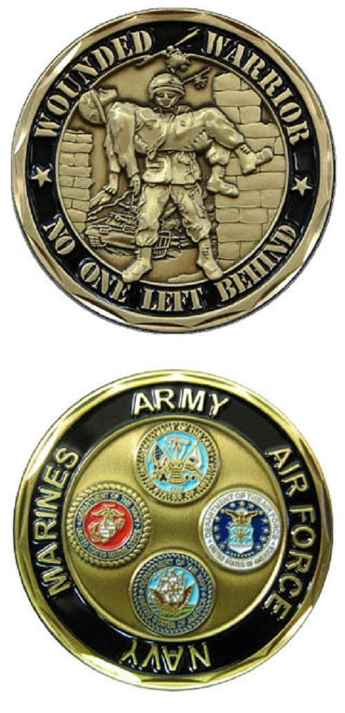 Challenge Coin - Wounded Warrior - All Branches