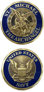 Navy Challenge Coin - St. Michael