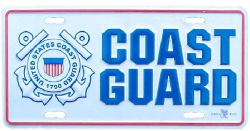 Coast Guard - License Plate - United States Coast Guard
