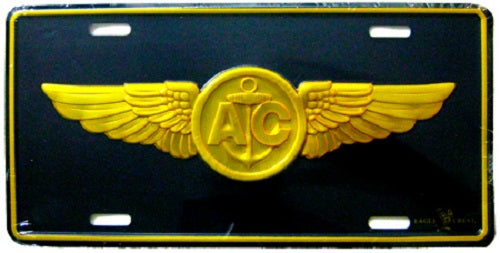 Navy - License Plate - Navy Aircrew