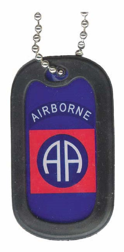 ARMY DOG TAG - 82ND AIRBORNE