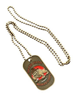 Marines Dog Tag - U.S.M.C. Bulldog