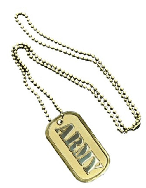 Army Dog Tag - ARMY (Engraveable)