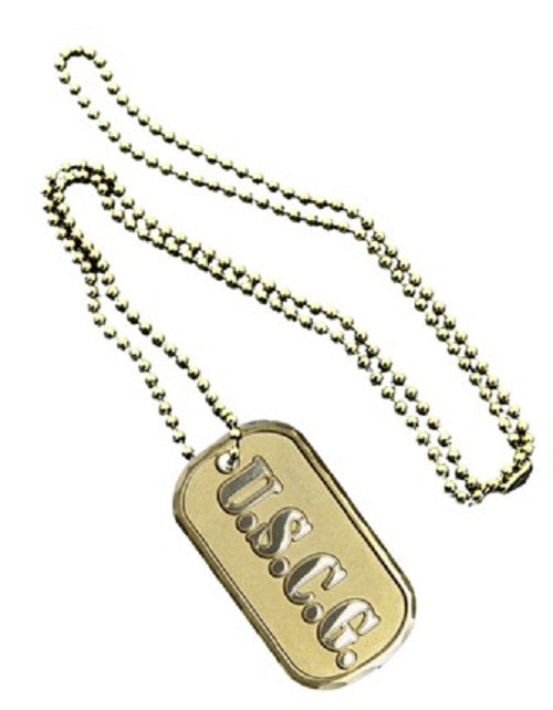 Coast Guard Dog Tag -U.S.C.G.