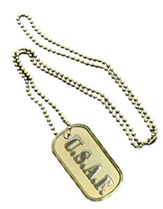 Air Force Dog Tag - USAF (Engraveable)