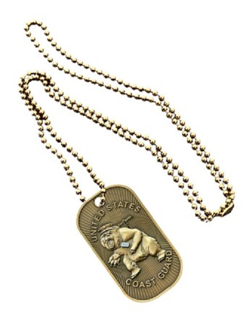 Coast Guard Dog Tag - Coast Guard Bear