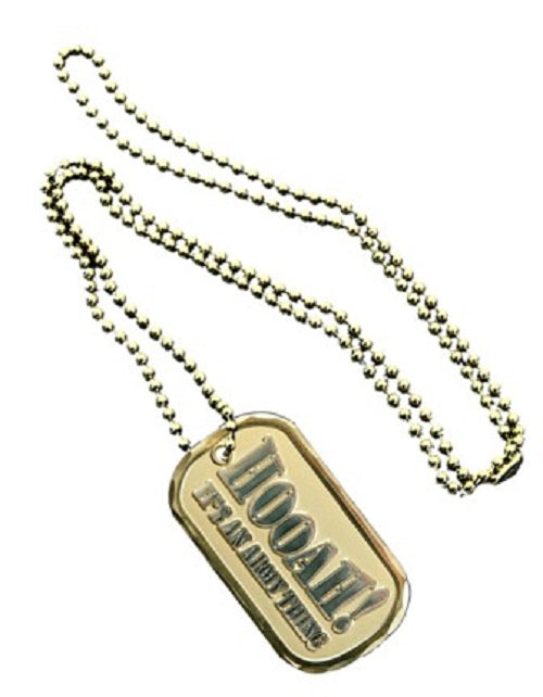 Army Dog Tag - Hooah!