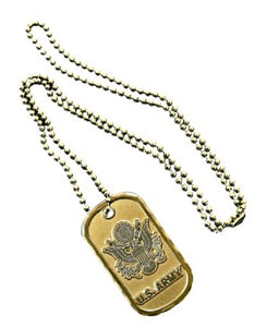 Army Dog Tag - U.S. Army (Engraveable)