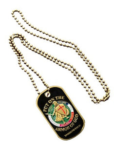 Spiritual Dog Tag - Armor of God (Engraveable)