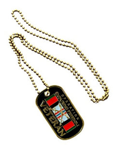 Dog Tag - Operation Enduring Freedom Veteran (Engraveable)