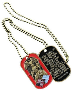 SPIRITUAL DOG TAG - SOLDIER'S PSALM