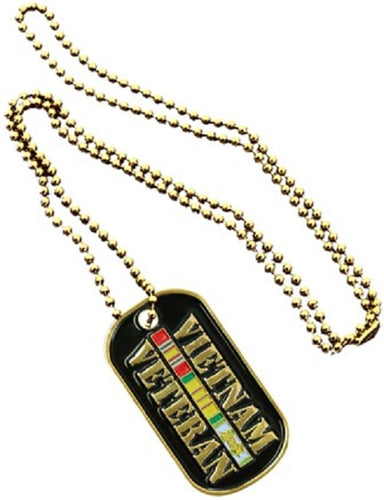Dog Tag - Vietnam Veteran (Engraveable)