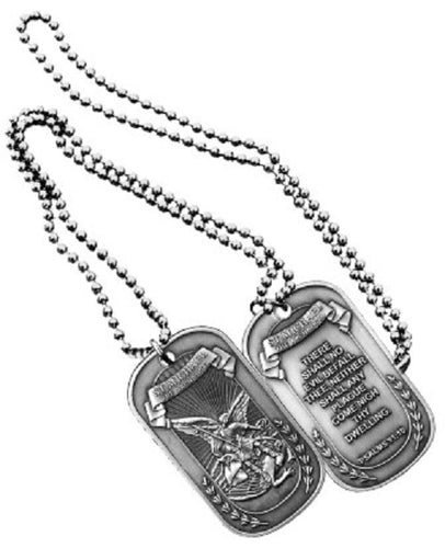 SPIRITUAL DOG TAG - ST. MICHAEL