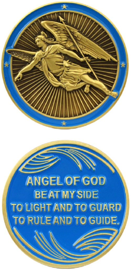 Challenge Coin - Angel of God