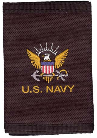 Navy - Wallet - U.S. Navy w/Eagle