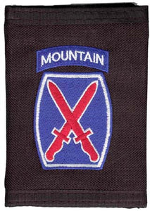 Army - Wallet - 10th Mountain Division