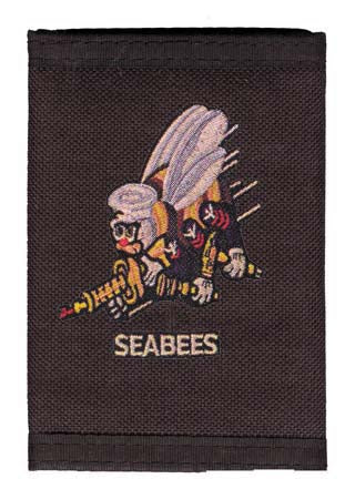 Navy - Wallet - Seabees