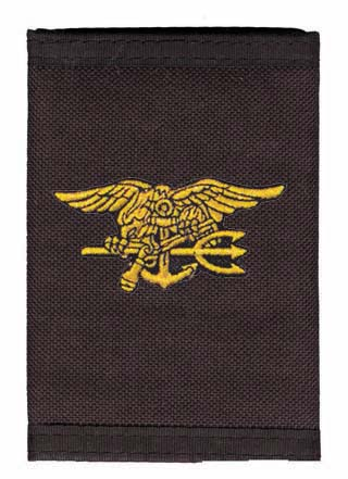 Navy - Wallet - SEALS Trident